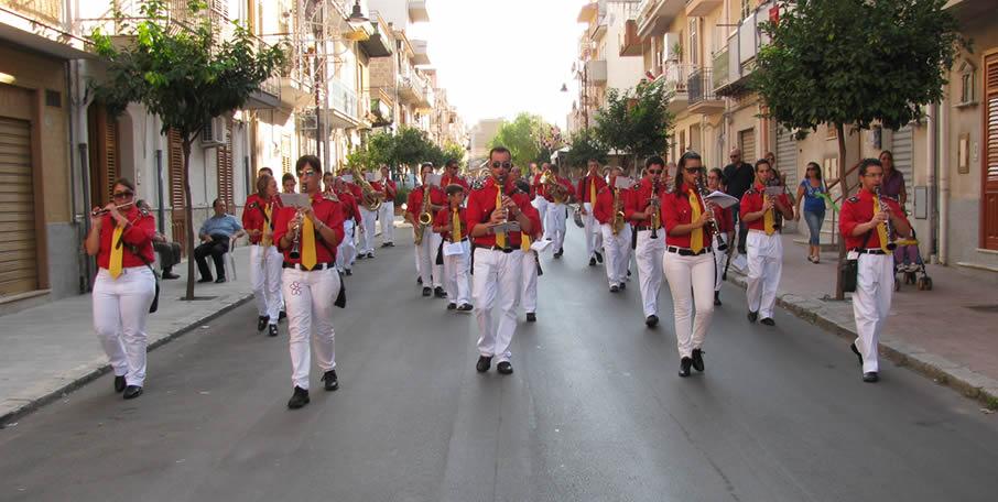 Dettaglio giacca divisa banda musicale Termini Imerese
