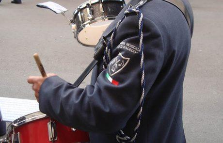 Dettaglio divisa banda musicale Paceco