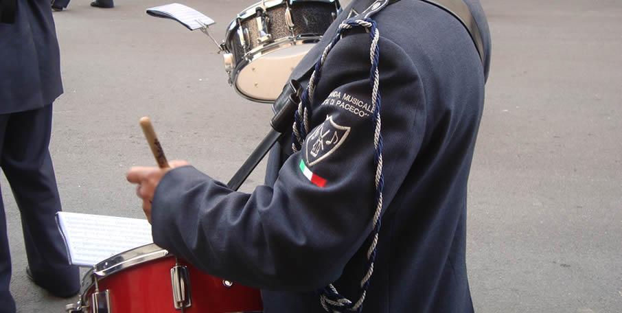 Divisa banda musicale Paceco