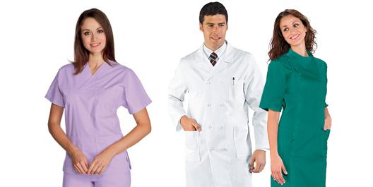Abbigliamento medicale ospedaliero