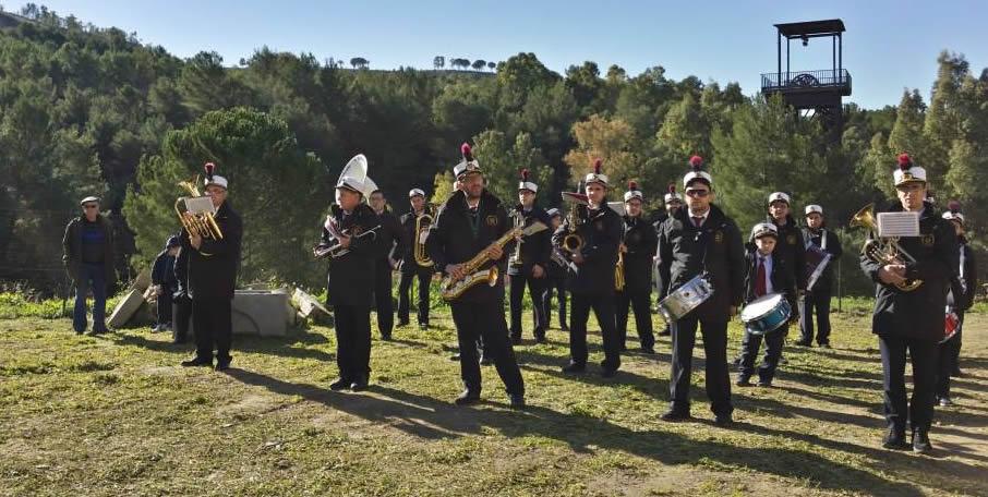 Divisa banda musicale Aidone