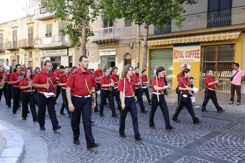 Divisa banda musicale Campofelice di Roccella