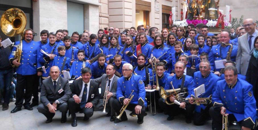 Divisa banda musicale Favignana