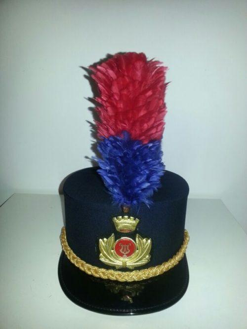 cappello kepi banda musicale aidone