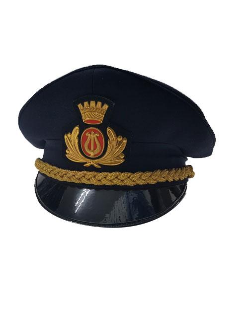 Cappello banda musicale blu