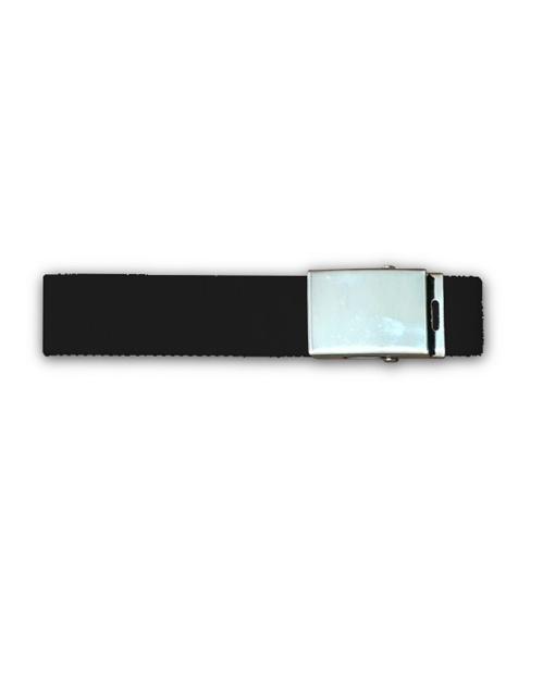 cintura in tela nera