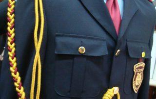 dettaglio giacca banda roccamera