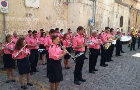 divisa estiva banda musicale isnello