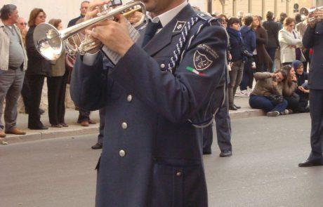 divisa trombettista banda musicale paceco