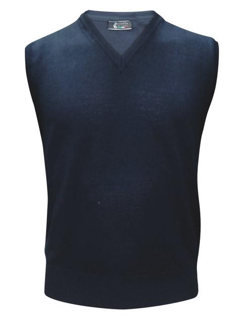 maglione smanicato uomo