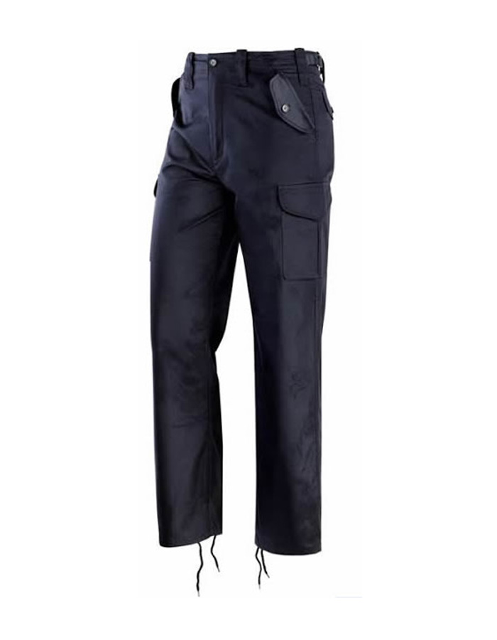 pantalone operativo blu