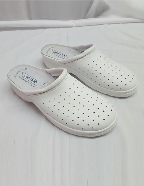 sandalo ospedaliero bianco