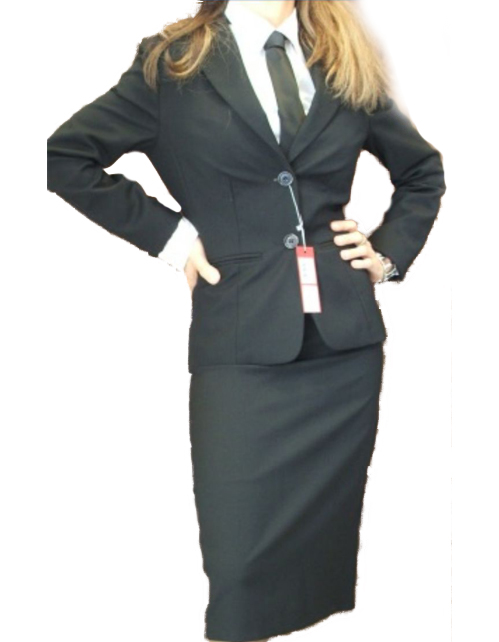 new product 18e6c 4071e Tailleur donna giacca gonna