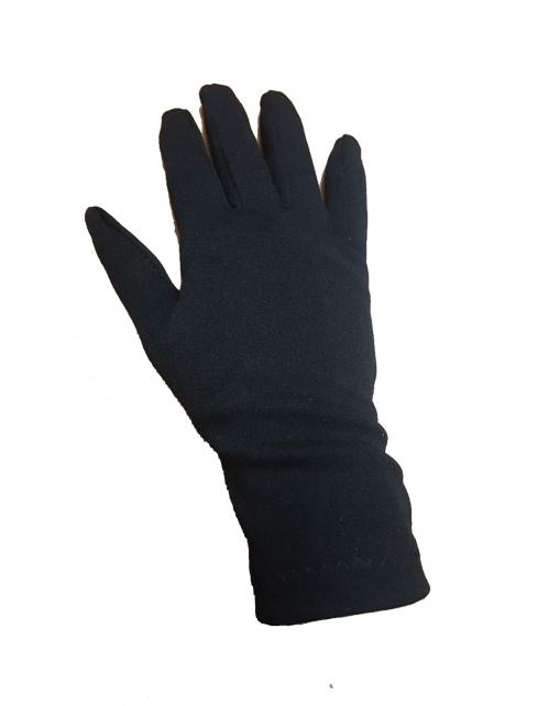 Guanto in licra colore nero disponibile nelle taglie 7 e 8. Ideali per componenti bande musicali, chef, operatori horeca.