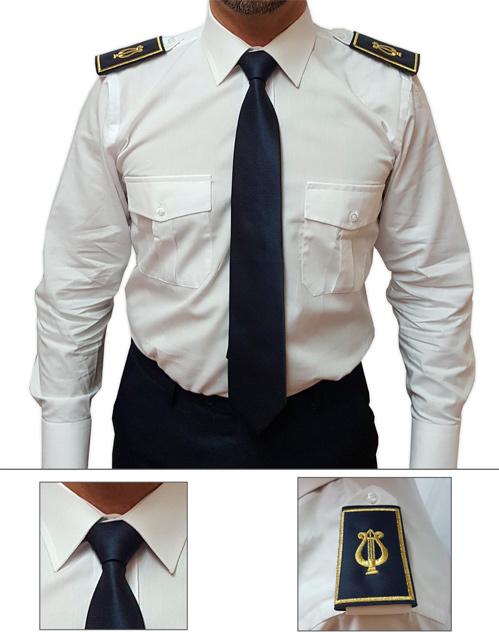 Offerta cravatta e tubolare colore blu navy