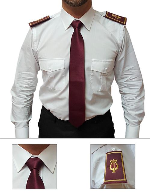 Offerta cravatta e tubolare colore bordeaux
