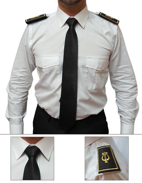 Offerta cravatta e tubolare colore nero