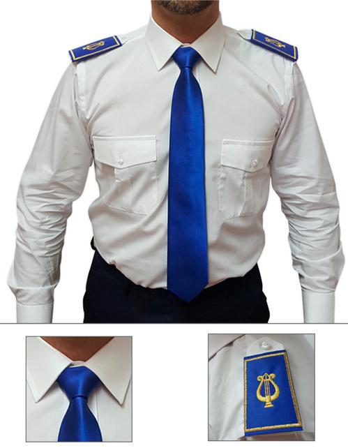 Offerta cravatta e tubolare colore royal
