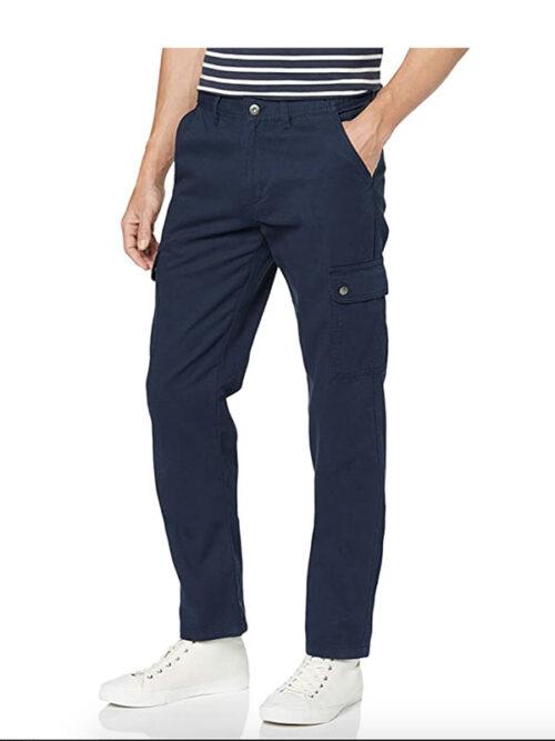 Pantalone Uomo Clique Cargo Pocket Trousers modello a 5 tasche eleganti che creano un comfort in movimento per l'uso quotidiano. Misure calibrate.